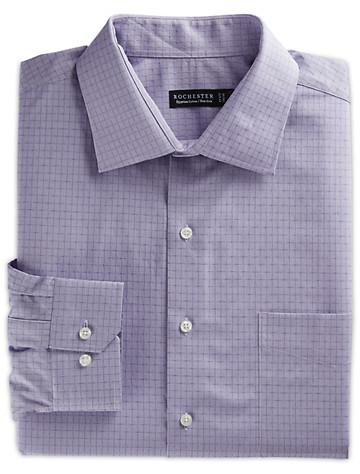 Rochester Non-Iron Dobby Grid Dress Shirt - $89.5