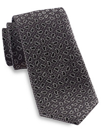 Rochester Small Repeated Paisley Silk Tie