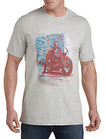 Robert Graham® Moto Graphic Tee