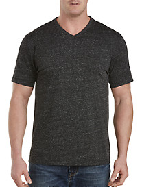 Twenty-Eight Degrees Textured-Look V-Neck Tee