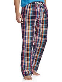 Psycho Bunny® Plaid Woven Lounge Pants