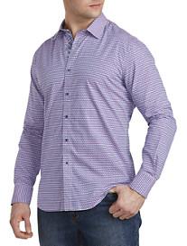 Robert Graham® Neel Geometric-Print Sport Shirt