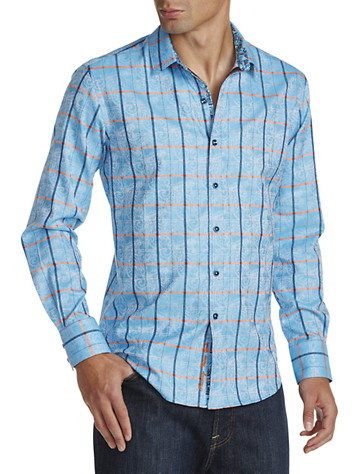 Robert Graham® Kannan Plaid Sport Shirt