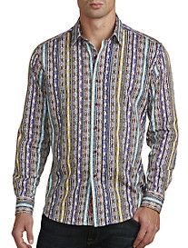 Robert Graham® Tripura Multi Stripe Sport Shirt