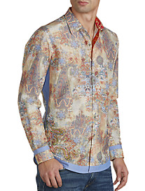 Robert Graham® Limited Edition Bollywood Paisley Sport Shirt
