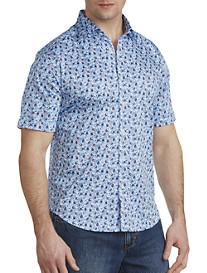 Robert Graham® Roman Floral Print Sport Shirt