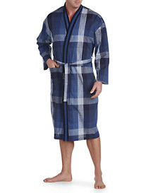 Majestic International® Exploded Plaid Robe