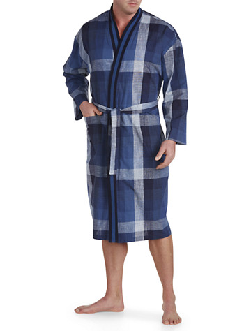 Majestic International® Exploded Plaid Robe -  On Sale!