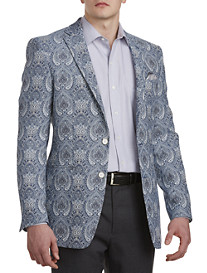 Tallia Orange Paisley Sport Coat