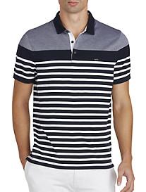 Michael Kors® Stripe Piqué Polo