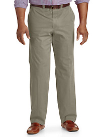 Bruno Saint Hilaire® Stretch Flat-Front Trousers