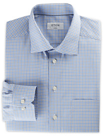 Eton® Small Plaid Dress Shirt