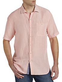 Tommy Bahama® Sand Check Linen-Blend Sport Shirt