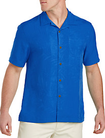 Tommy Bahama® Coastal Fronds Silk Camp Shirt