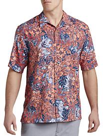 Tommy Bahama® Greek Batik IslandZONE® Camp Shirt