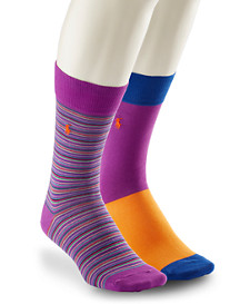 Polo Ralph Lauren® 2-pk Stripe Socks