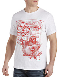 True Religion® Buddha Sketch Tee