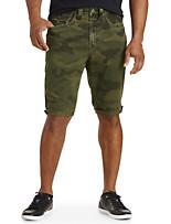 True Religion® Camo Shorts