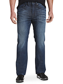 True Religion® Ricky Straight Jeans – Midnight Clouds Wash