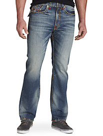 True Religion® Ricky Super T Relaxed Straight Jeans – True Illusion Wash