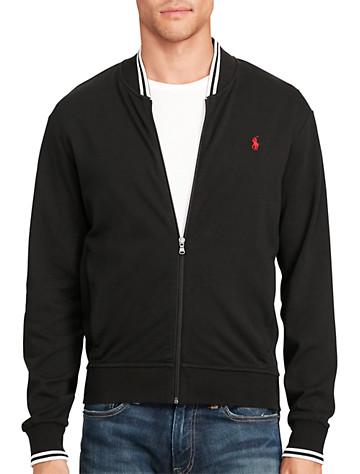 Polo Ralph Lauren® Knit Cotton Bomber Jacket