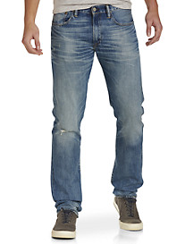 Polo Ralph Lauren® Hampton Straight-Fit Lightweight Crawford Wash Jeans