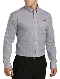 Cutter & Buck® Ohio State Mini Check Sport Shirt
