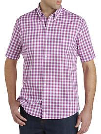 Cutter & Buck® Wrinkle-Free Los Rios Check Poplin Sport Shirt