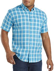 Cutter & Buck® Agua Plaid Sport Shirt