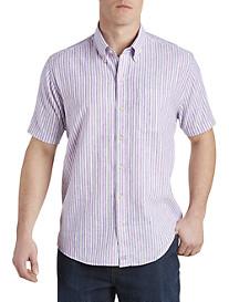 Cutter & Buck® River Front Stripe Sport Shirt