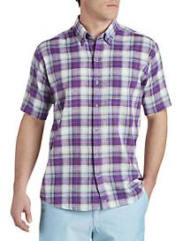 Cutter & Buck® Beaulieu Plaid Sport Shirt