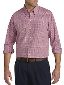Cutter & Buck® Wrinkle-Free Cimarron Check Poplin Sport Shirt