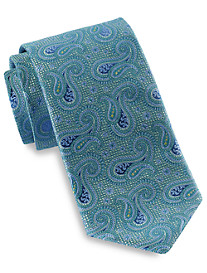 Robert Talbott Best of Class Textured Paisley Silk Tie