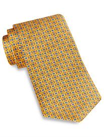 Robert Talbott Best of Class Abstract Artsy Neat Silk Tie