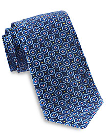 Robert Talbott Medium Circle Medallion Silk Tie