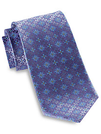 Robert Talbott Repeating Floral Silk Tie