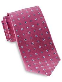 Robert Talbott Abstract Square Neat Silk Tie
