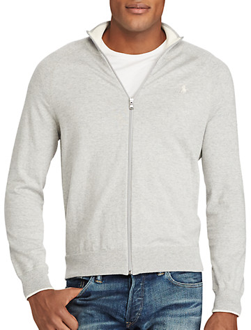Polo Ralph Lauren® Cotton Full-Zip Cardigan