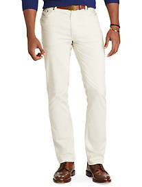 Polo Ralph Lauren® 5-Pocket Stretch Cotton Flat-Front Pants