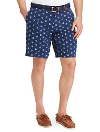Polo Ralph Lauren® Linen/Cotton Marlin Print Shorts