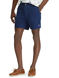 Polo Ralph Lauren® Flat-Front Stretch Cotton Twill Shorts