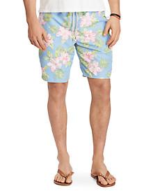 Polo Ralph Lauren® Floral Traveler Long Swim Trunks