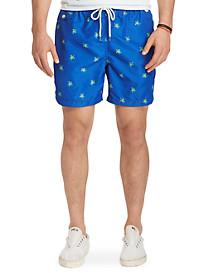 Polo Ralph Lauren® Floral Traveler Swim Trunks