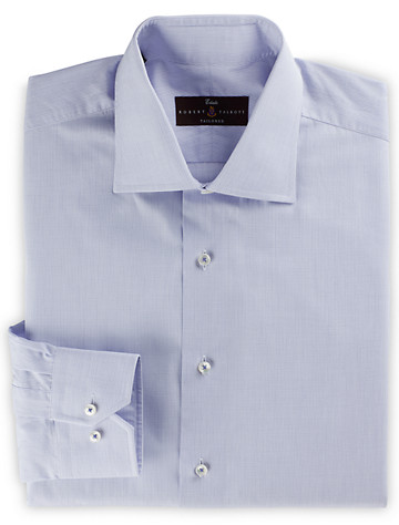Robert Talbott Estate Mini Graph Check Dress Shirt - Available in amethyst purple
