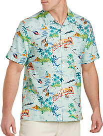 Tommy Bahama® Florida Seas Silk Camp Shirt