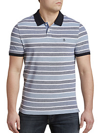 Original Penguin® Birdseye Wide Stripe Polo