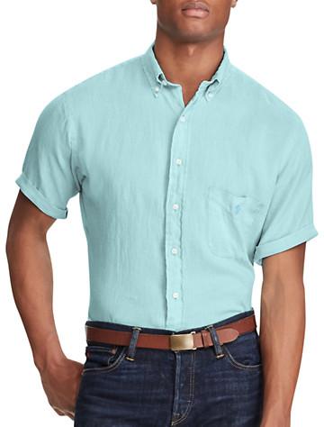 Polo Ralph Lauren® Ocean-Wash Linen Sport Shirt