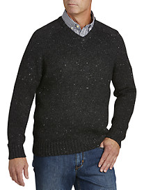 Original Penguin® Tweed V-Neck Sweater