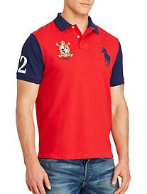 Polo Ralph Lauren® Big Pony Mesh Polo (red navy)