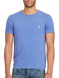 Polo Ralph Lauren® Jersey Crewneck Pocket T-Shirt